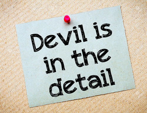 The Devil is surely in the detail – working from (WFH) does not escape notice