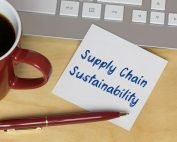 Sustainability post it note